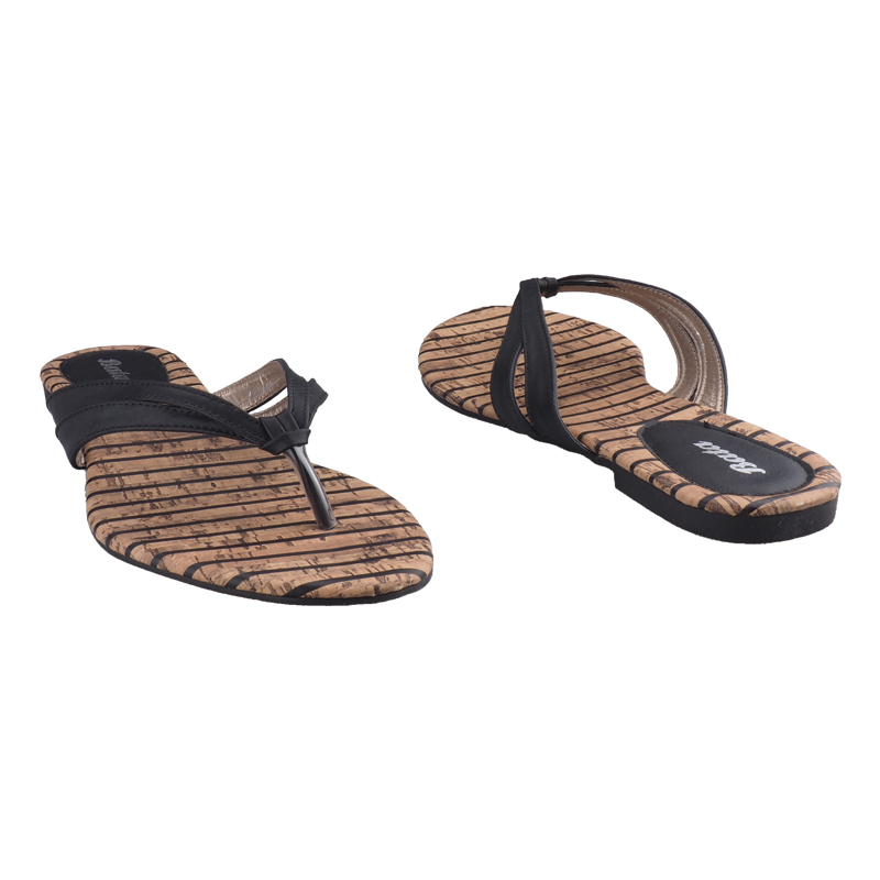 818768a77 Trendy Bata Ladies Casual Flat Sandals black-5716165 6   Kilimall Kenya