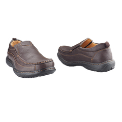 Bata Black Shoes- Black Brown 7