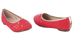 Classic ballerina flats (351-9041) Red 3