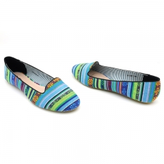 Stylish Multicolored Bata ballerina Multicolor-(551-9012 3