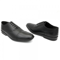 Stylish Mens Formal Shoes Black-(834-6095) 6