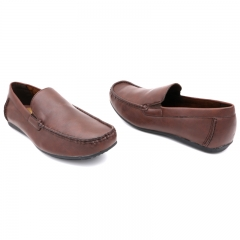 Classy Bata casual loafers (851-4108) Brown 6