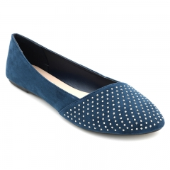 BATA Ladies Casual flat shoes Navy Blue (5519093) 6