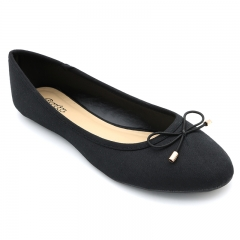BATA LADIES CASUAL BALLERINA SHOES Black (5590607) 3