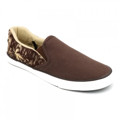 BATA MENS CANVAS CASUAL SHOES Brown 8594059 7