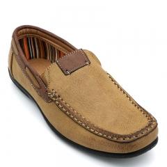 BATA MEN CANVAS CASUAL SHOE Brown 8514771 6