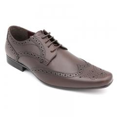 BATA Men Formal Office Wear Dark Brown 8244569 6
