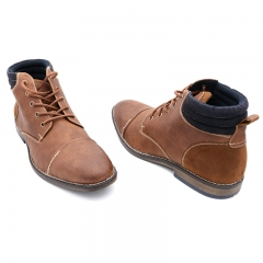 BATA Men Formal Office Wear Brown- Brown-8014070 10