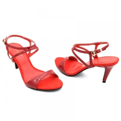 Ladies Casual-Flat Sandals- Red-7616058 3