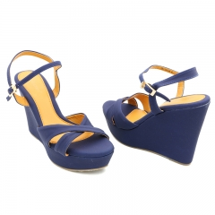Ladies Casual-Flat Sandals-7619139 navy blue 3