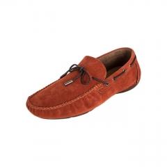 BATA Burnt Orange Men's Casual Loafers 8518081 . 7