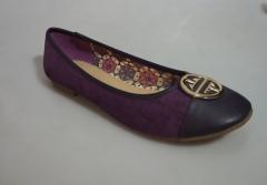 Bata Casual Ladies Flat shoe- 551-0017 purple 37