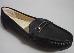 Bata Official Women Loafer- 551-6309 Black 38