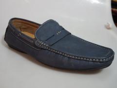 BATA Men Blue Loafer shoe- 851-9071 navy blue 11