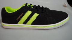 Bata Northstar Men Sneakers- 881-6316 black with green 8
