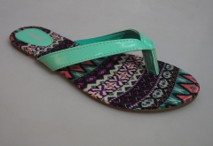 BATA Ladies Classy Sandal- 571-7044 multiprint 37