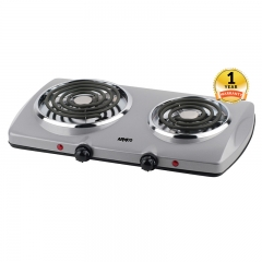 ARMCO AEC-C20(S) - 2 Burner Spiral Electric Hot Plate
