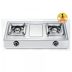 ARMCO GC 8250P2 - 2-Burner Unit with 2 Single Burners - Silver .
