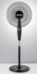 ARMCO Stand Fan AFS-16AS2 Black
