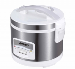 ARMCO ARC-301A 3L Rice Cooker white& silver