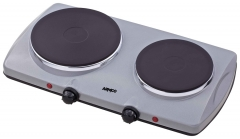 ARMCO -S20(S) Solid Electric Hot Plate, 2 Burner, Grey