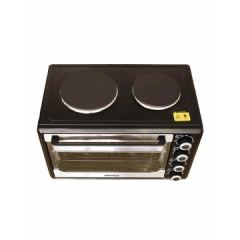 ARMCO AEC-301SX(B) - 30L - Electric Oven with 2 Solid hot Plates