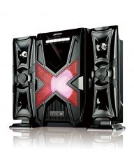 "ARMCO AHT-ZX35BT - 6.5"" Sub woofer - 4500w PMPO - USB - SD CARD - FM Radio - Bluetooth black"
