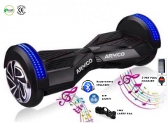 "ARMCO AHB-8B1 8"": Electric Hover Board, Bluetooth speakers"