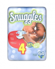 SNUGGLES BABY DIAPERS MAXI (SIZE 4) Jumbo Pack 64's