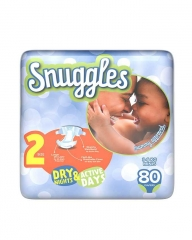 SNUGGLES BABY DIAPERS MINI (SIZE 2) JUMBO PACK 80'S