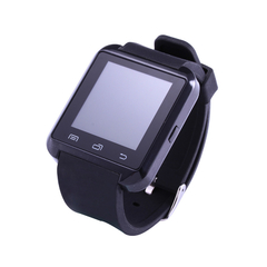 Digital-watch Wireless Bluetooth Smart Watch U8 Sport Pedometer Reminder WristBand for Android black one size