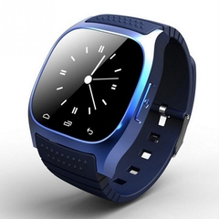Inteligent Waterproof M26 Bluetooth V4.0 V4.2 Sync Smart Watch Wearable Devices connect For  Android black one size