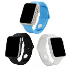 GU08S Bluetooth Smart Watch WristWatch Sport Unisex Wrist Watch for Apple iPhone Samsung Huawei black one size