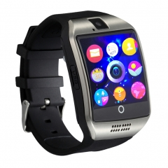 Smartwatch Q18 with Touch Screen Camera TF Card 3.0 Version Bluetooth for Android IOS Phone black one size