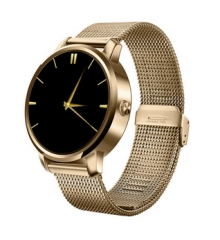 2016 New V360 Smart Watch For Apple iPhone Huawei Android ios Smartwatch with Siri function update gold one size