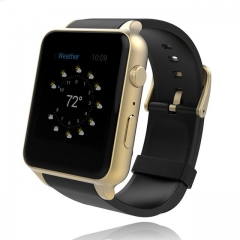 Heart Rate Monitor Bluetooth GT88 Smartwatch Support SIM 1.3M Camera Card For IOS Android silver one size