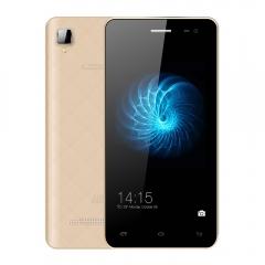 "Original Leagoo Alfa 6 Android 4.4 MTK6582 Quad Core 4.5"" IPS Smartphone 1GB RAM 8GB ROM 3G WCDMA gold"