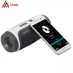JY-3 Portable Wireless Bluetooth Loudspeaker Support U-disck TF Card with FM and Mic for All Phone blue one size