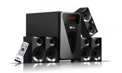 G815 GLD 5.1 Multimedia speaker systems black