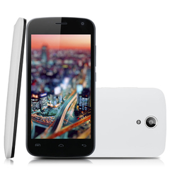 4.5'' DOOGEE X3 IPS Android 5.1 Lollipop MT6580 Quad Core 1.3GHz Mobile Phone White