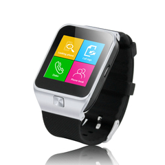 ZGPAX Bluetooth Smart Watch with Camera Unlocked SIM Phone Watch Sync Silver