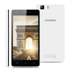 DOOGEE X5 IPS 5.0''  3G Smartphone Android 5.1MT6580 Quad Core 1.3GHz Mobile Phone Dual SIM White