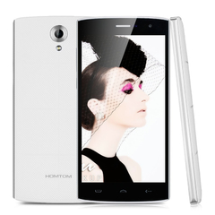 5.5'' HOMTOM HT7Android 5.1 Lollipop MTK6580A Quad Core 1.3GHzGPS Smartphone White