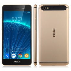 5.2 Inch  LTE Infocus V5(M560/M808) MTK6753 Octa Core 1.3Ghz Android 5.1 2GBRAM+16GB ROM Smartphone Gold