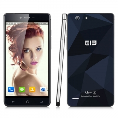 Elephone S2 Plus 5.5 inch MT6735 64-bit Android 5.1 Quad-Core RAM 2GB+16GB ROM  Smartphone Blue