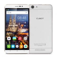 "Cubot Dinosaur: 5.5"", 3 GB RAM/ 16 GB ROM, 4150 mAh,  Android 6.0, 13 MP Back Camera White"
