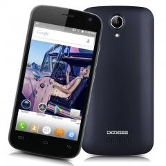4.5'' DOOGEE X3 IPS Android 5.1 Lollipop MT6580 Quad Core 1.3GHz Mobile Phone Black