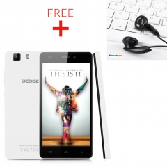5.0'' DOOGEE X5 Pro IPS Android 5.1 Lollipop MT6735 Quad Core 1.0GHz Smartphone EU White