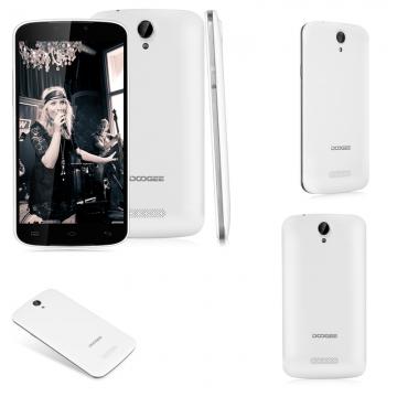 5.5'' DOOGEE X6 Pro IPS Android 5.1 Lollipop MT6735 Quad Core 1.0GHz 2GB RAM 16GB ROM White