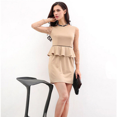Trendy High Quality Dress khaki M